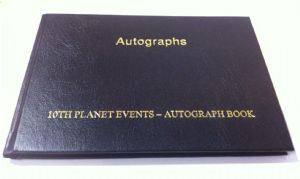 Pre-Signed Autograph Book GENUINE SIGNED AUTOGRAPHS 9198